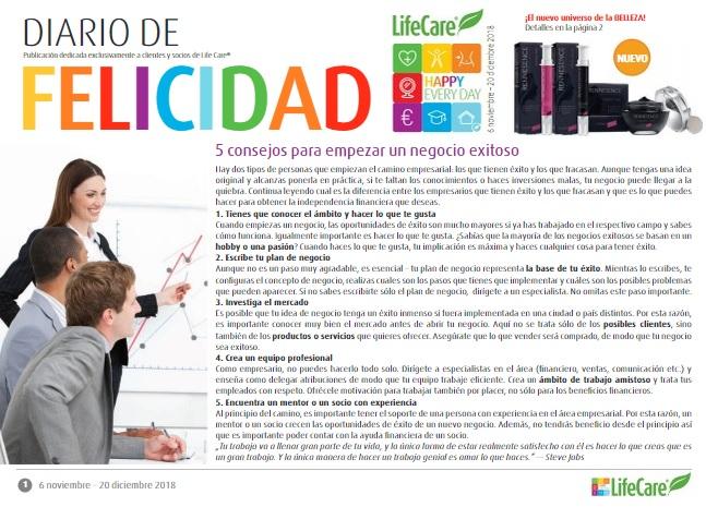 Spanyol Life Care katalógus