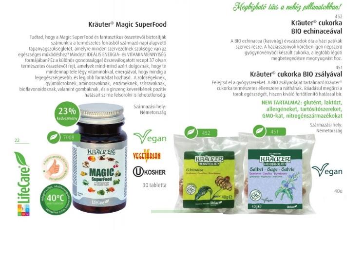 Life Care termékek